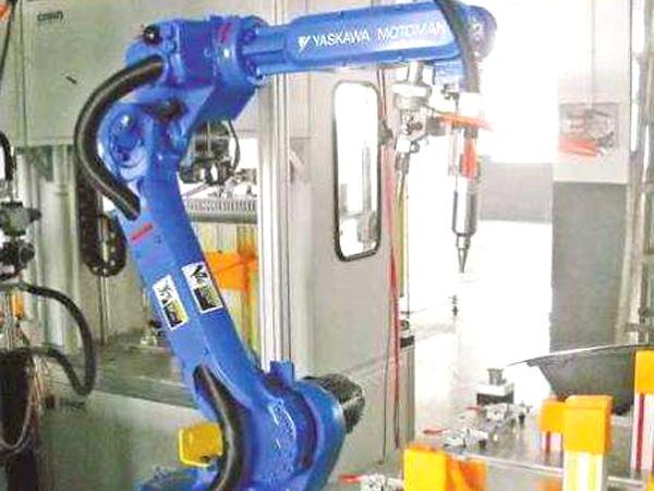 涂胶机器人应用