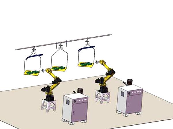 喷涂机器人系统