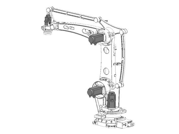 180kg四轴码垛机器人